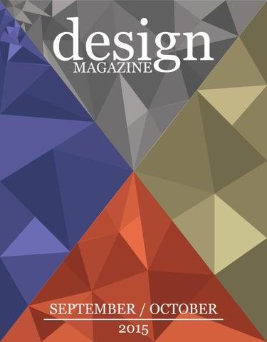 DESIGN MAGAZINE 25 (SEPTEMBER/OCTOBER 2015) By Design Magazine   Issuu