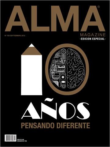 ALMA MAGAZINE 100 - SEPTIEMBRE 2015 by ALMA MAGAZINE - issuu 00b7e778319