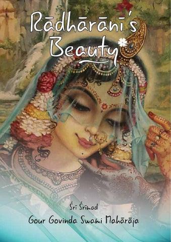 Radharani's Beauty by Tattva Vicara Publications - issuu