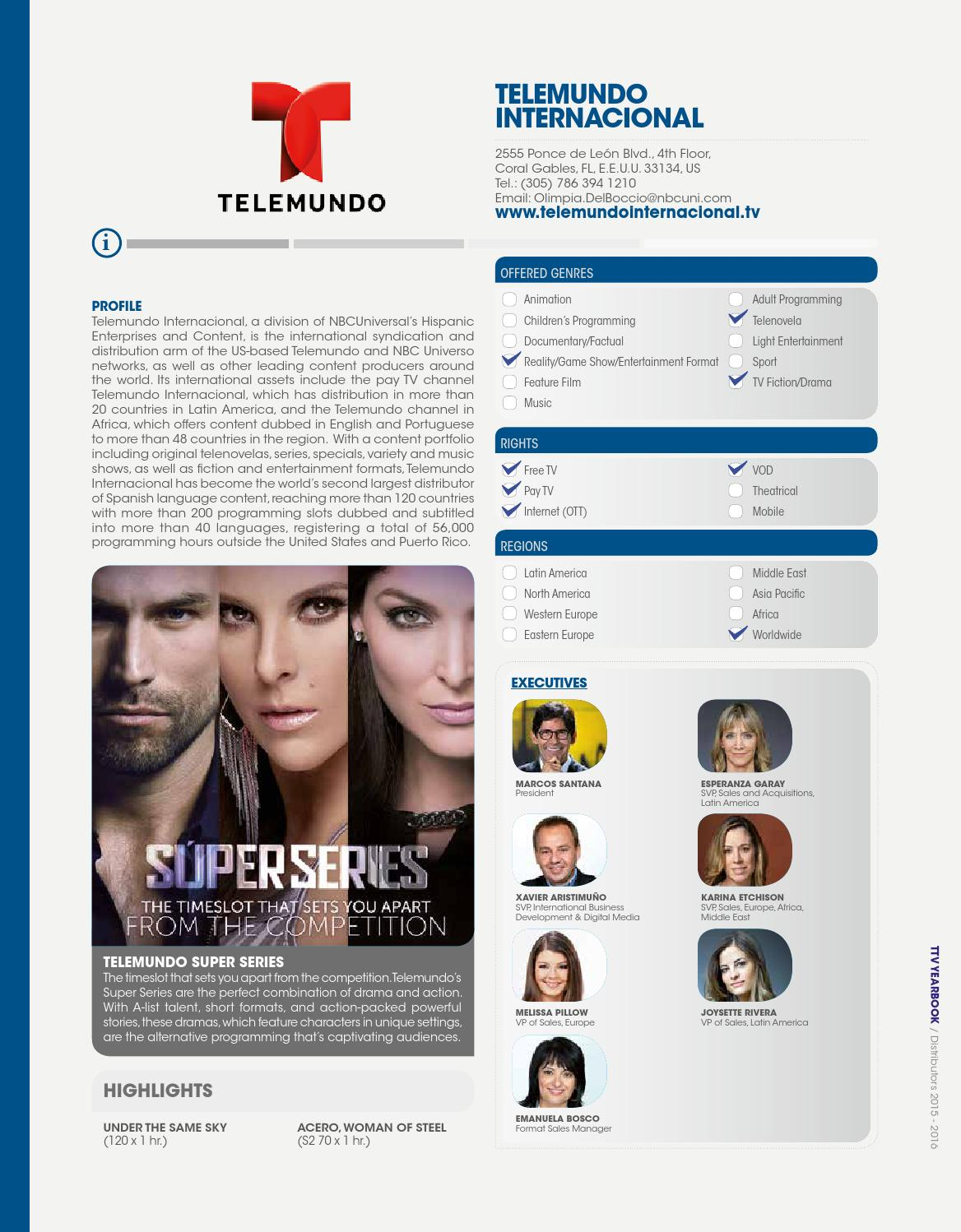 TTV Yearbook - Distribuidores 2015 by TodotvMedia - issuu