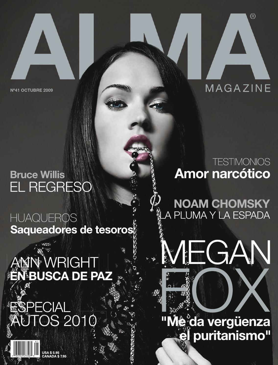 ALMA MAGAZINE 41 - OCTUBRE 2009 by ALMA MAGAZINE - issuu