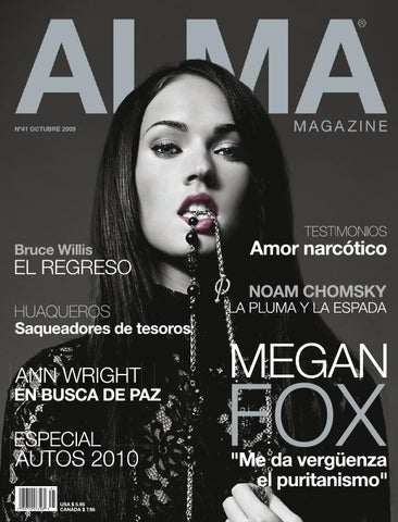 innovative design f6c62 18e1c ALMA MAGAZINE 41 - OCTUBRE 2009 by ALMA MAGAZINE - issuu