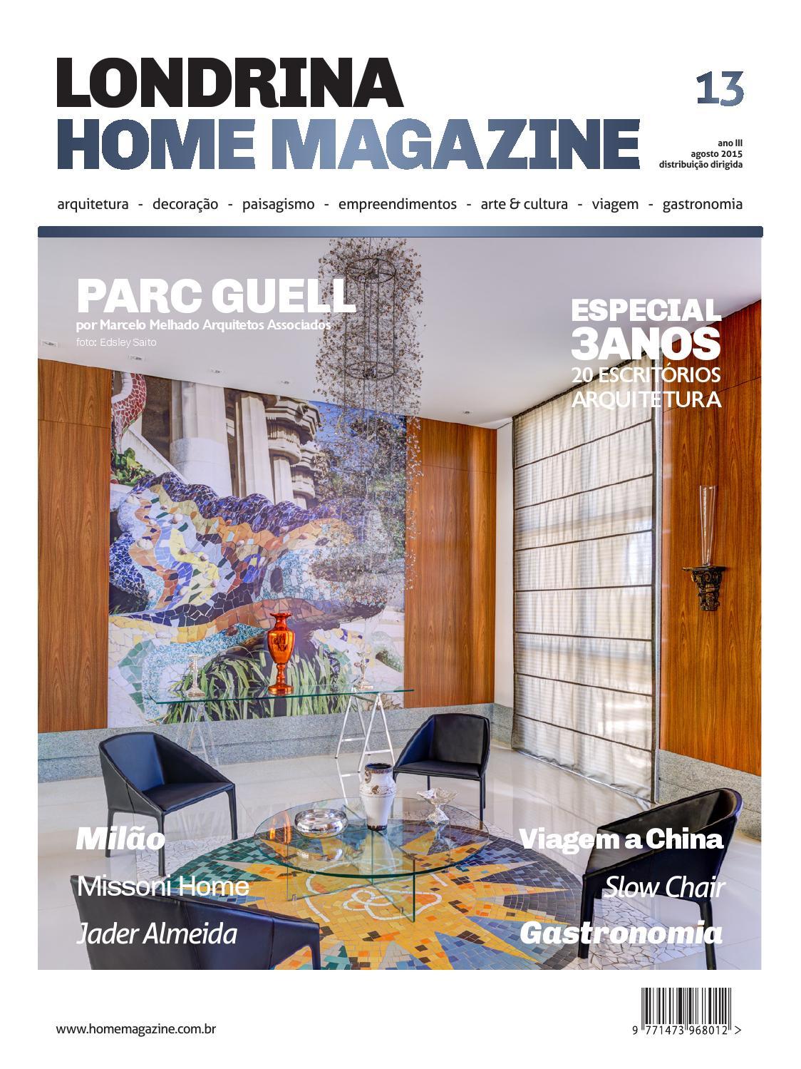 4ec80d016 Londrina Home edição de 3 anos Agosto 2015 by Home Magazine - issuu
