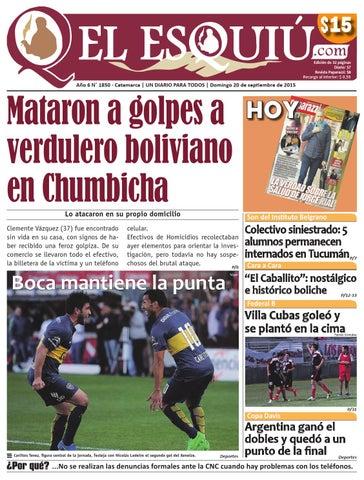 El Esquiucom Domingo 20 De Septiembre De 2015 By Editorial El