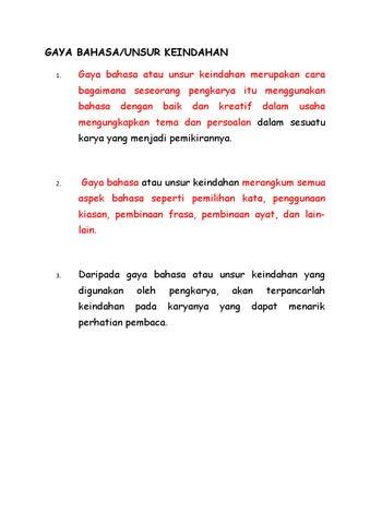 Gaya Bahasa By Krul Nzam Issuu