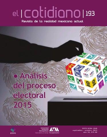 El Cotidiano No. 193 by Revista El Cotidiano UAM Azcapotzalco - issuu 7465836126719