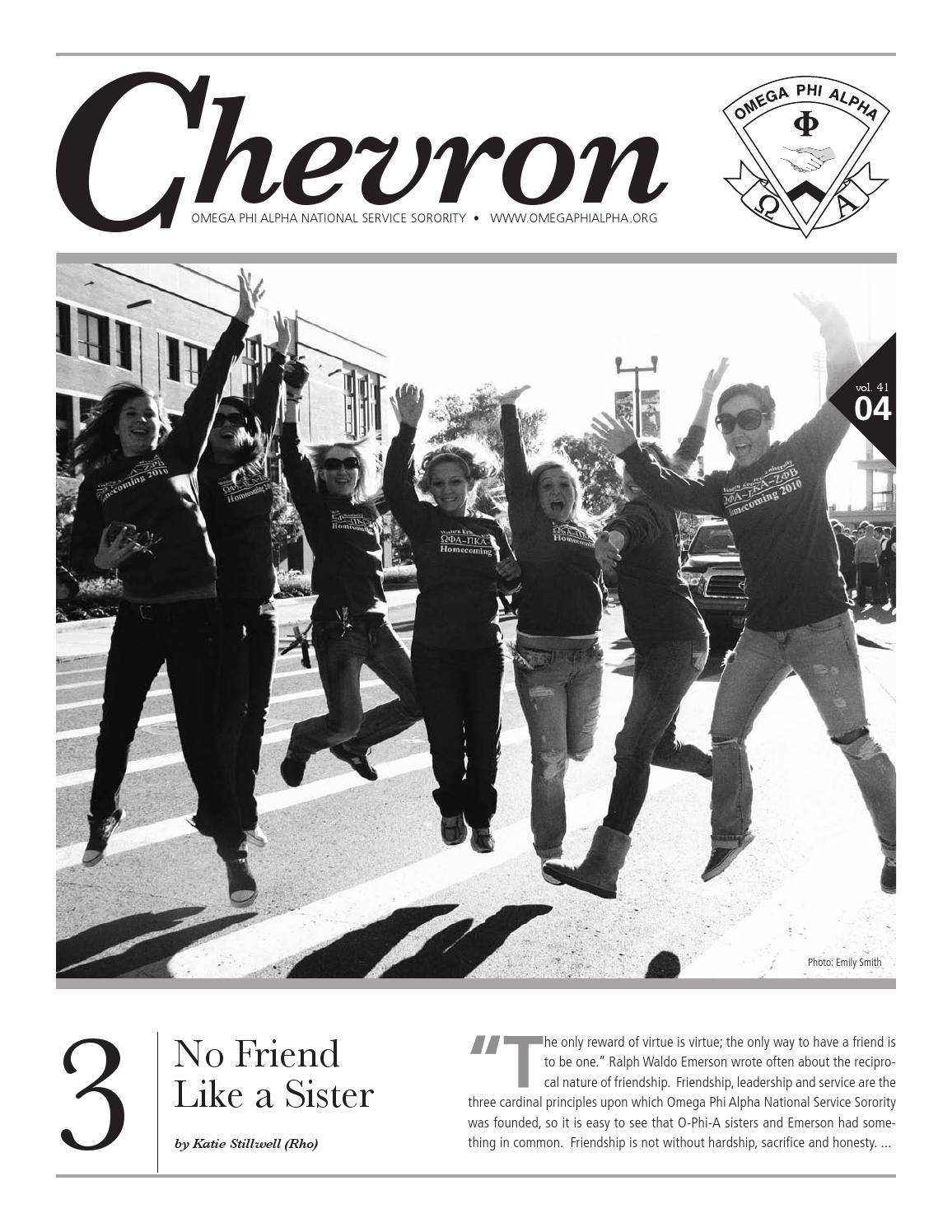 Chevron summer11 by omega phi alpha national service sorority issuu biocorpaavc Gallery