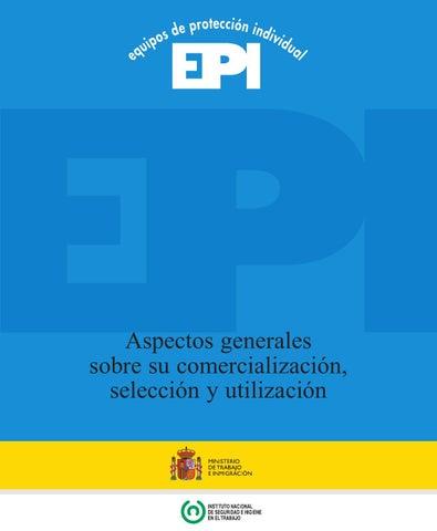 Equipos de protección individual (epi s)  insht  by Juan Carlos ... 5a9363af5e