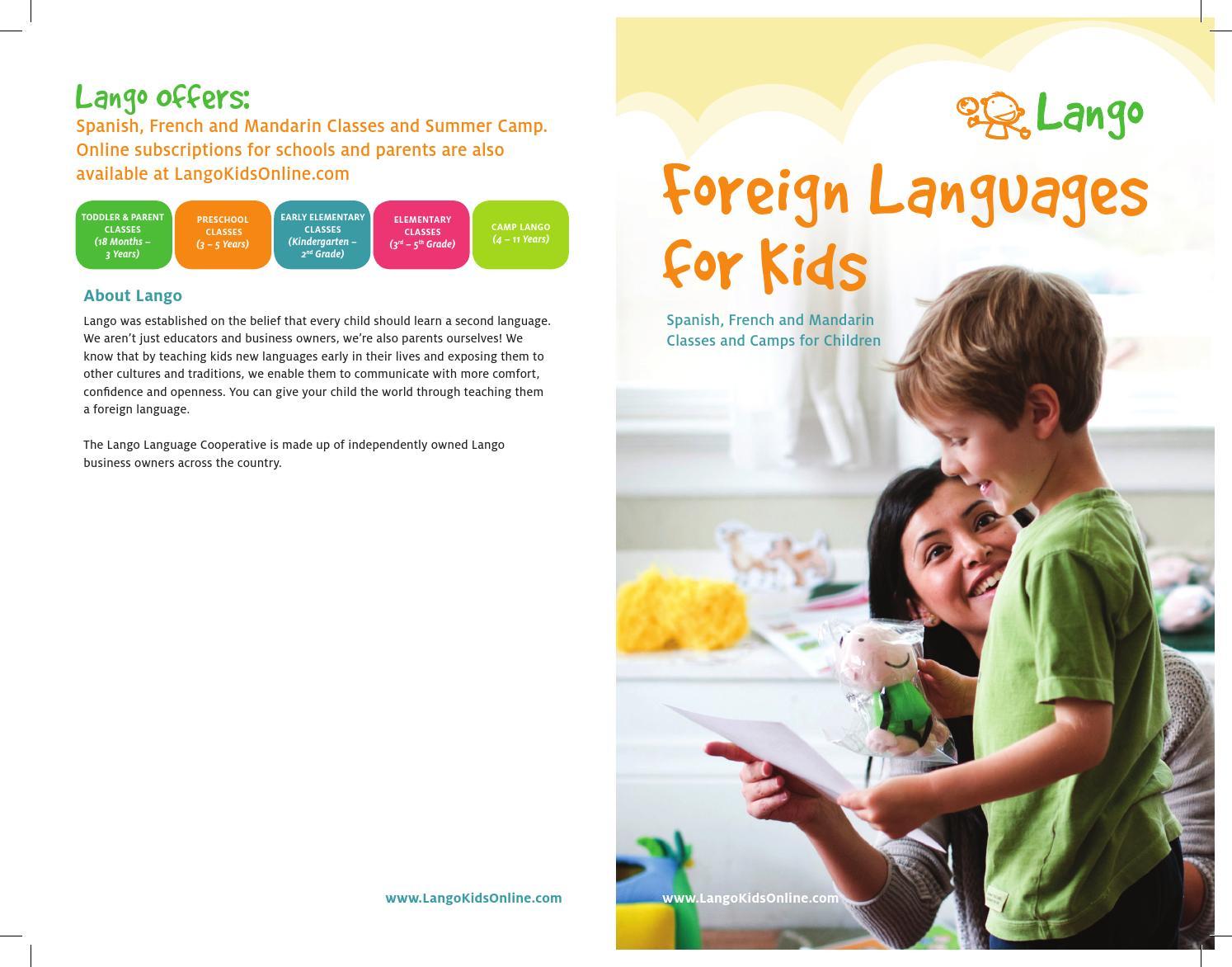 children foreign language class