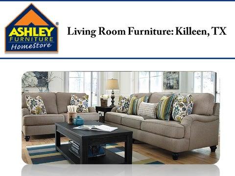Ashley Furniture HomeStore Offers Extensive Range Of Living Room Furniture  In Killeen, TX.