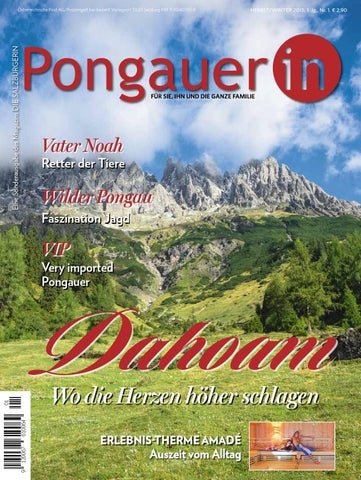 Die Pongauerin1 by Die Salzburgerin - issuu