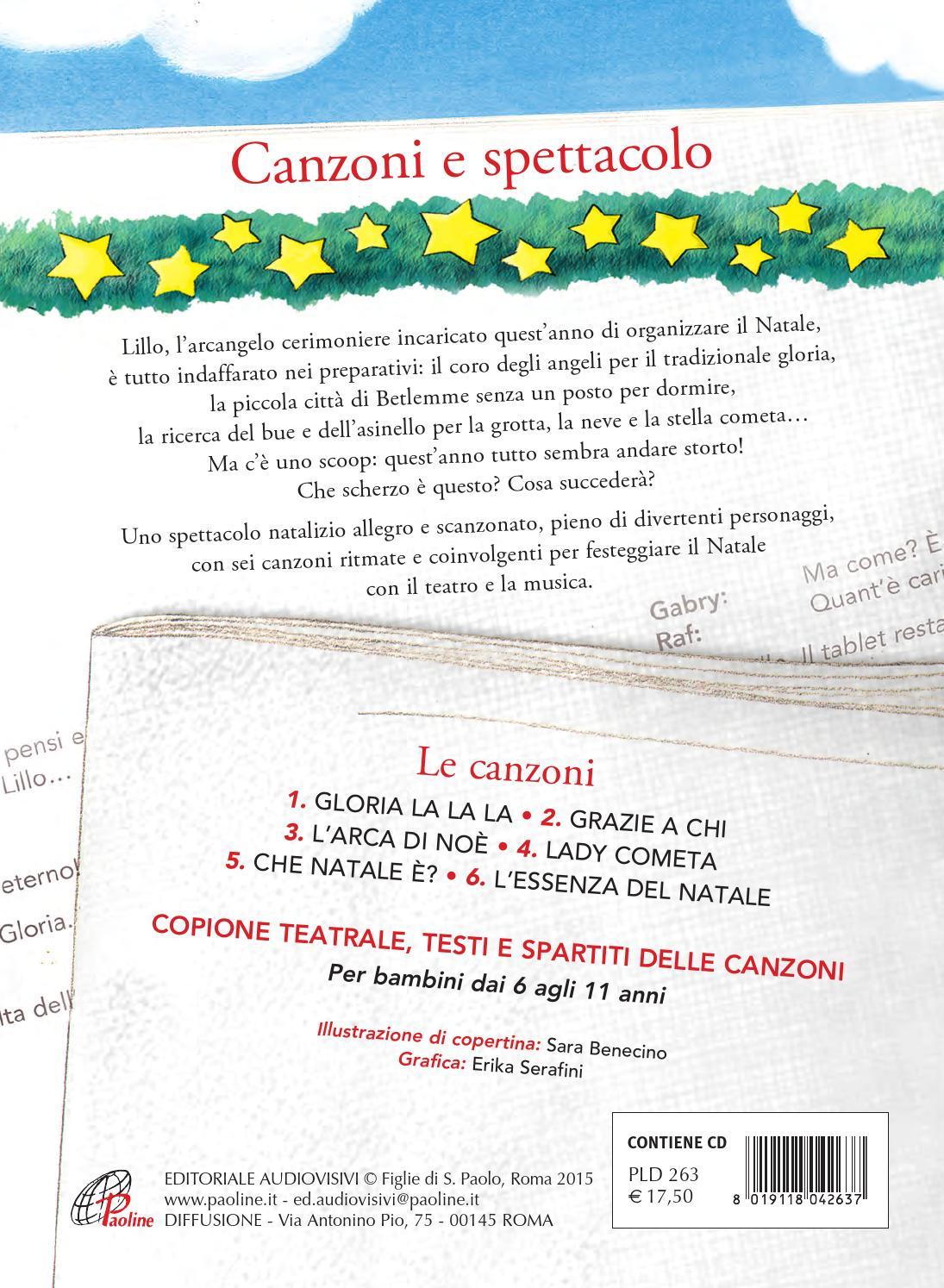 Canzone Di Natale Stella Cometa Testo.Natale In Prima Pagina By Paoline It Issuu