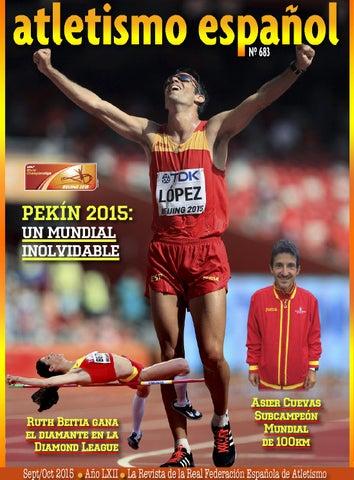 683 Sept.Octubre 2015 Atletismo Español by atletismo