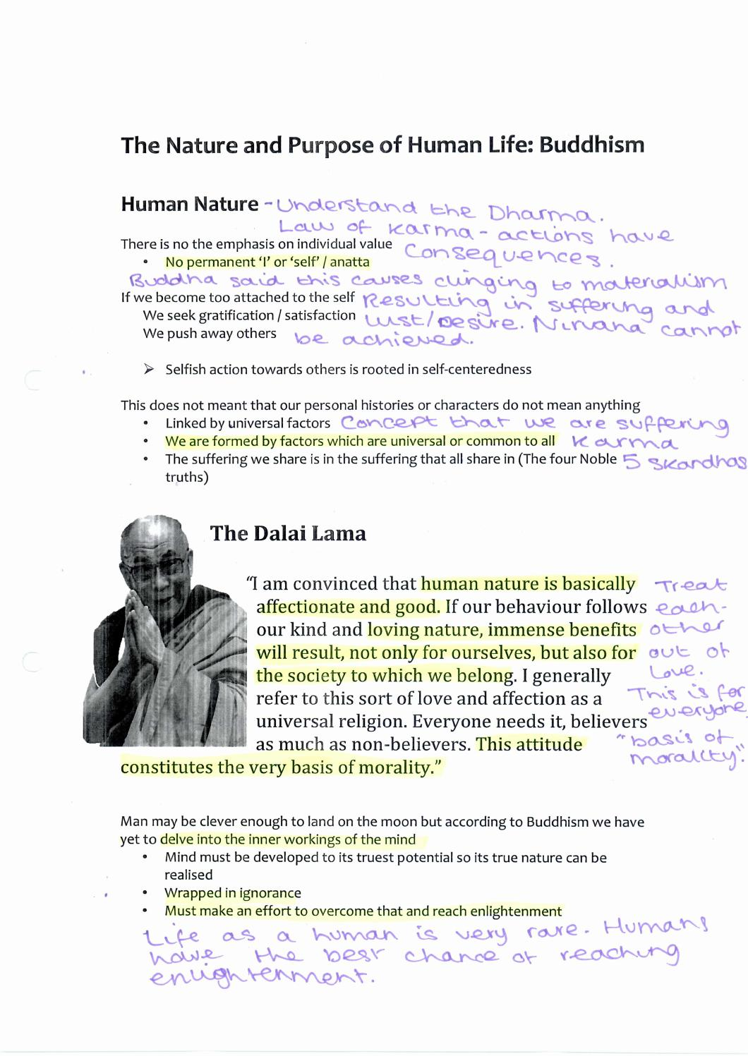 Ellie Buddhism Summary By Jon Emerson Issuu