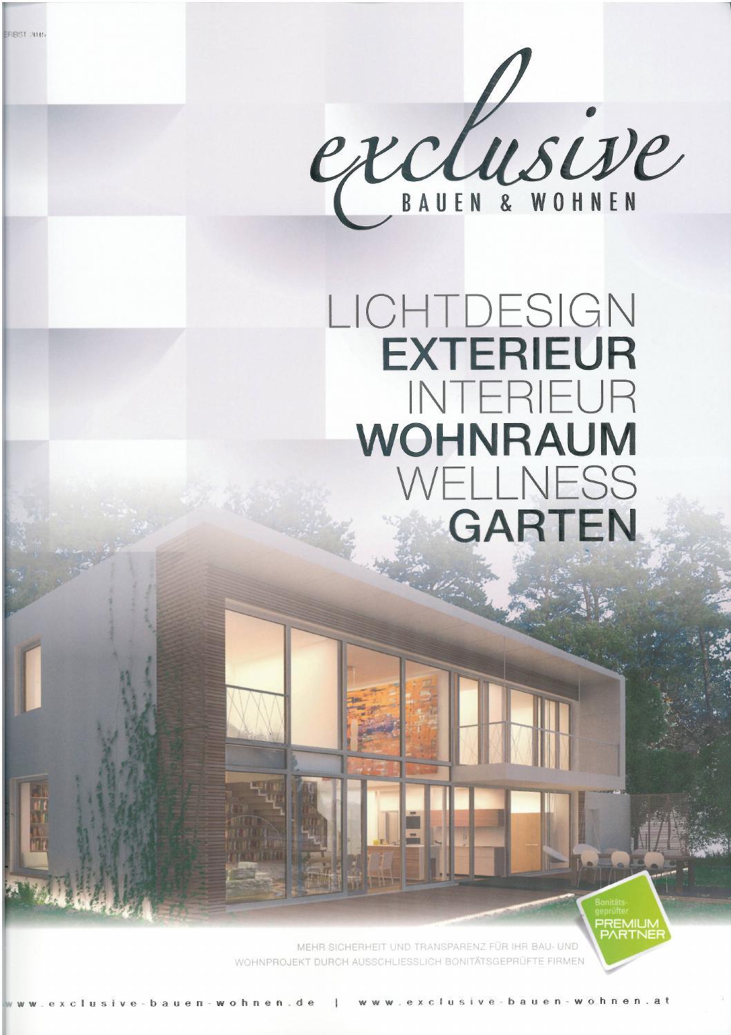 Exclusive Bauen Wohnen Herbst 2015 By Planika Fires Issuu