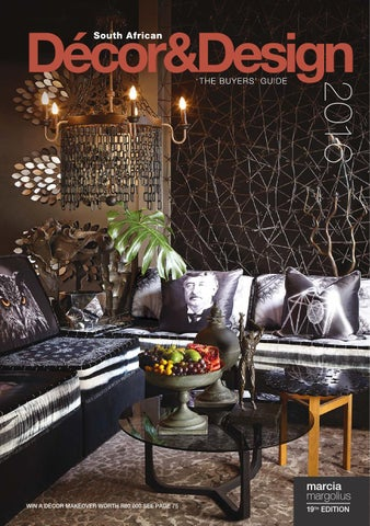 Sa Decor And Design The Buyers Guide 2016 Edition By Sa