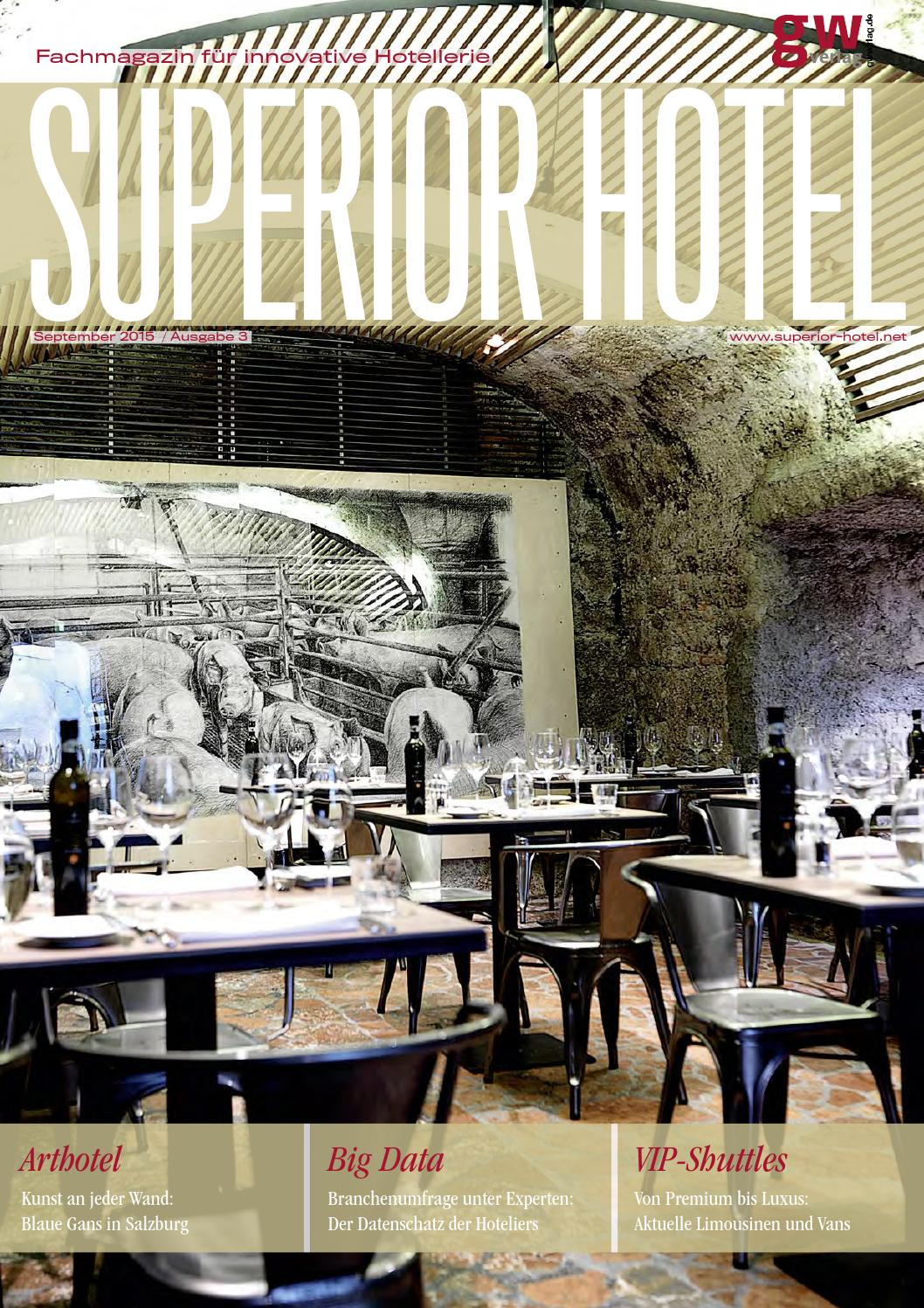 Superior Hotel 3/2015 by GW VERLAG - issuu
