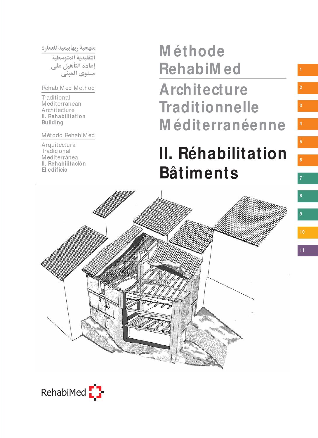 M thode rehabimed architecture traditionnelle for Architecture maison traditionnelle libanaise