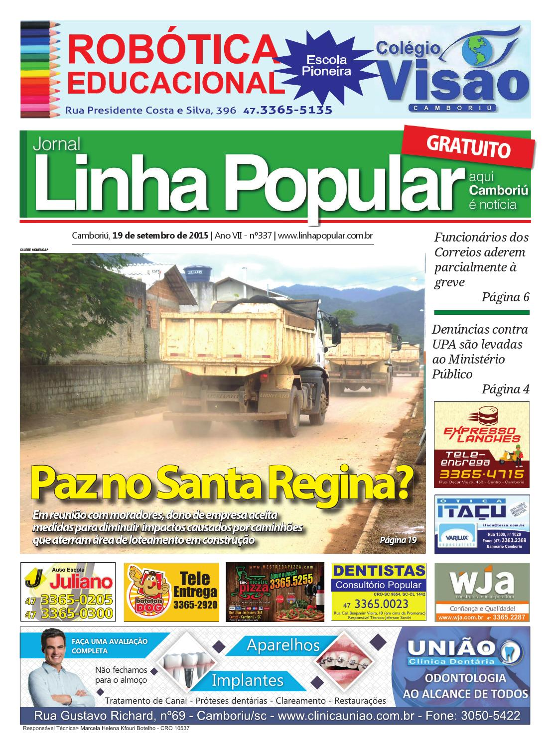 Lp 337 compressed by Jornal Linha Popular (Camboriú-SC) - issuu 00db897378726