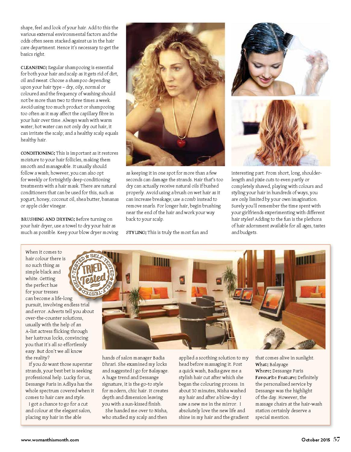 dda7dbf78b5 Woman This Month - October 2015 by Red House Marketing - issuu