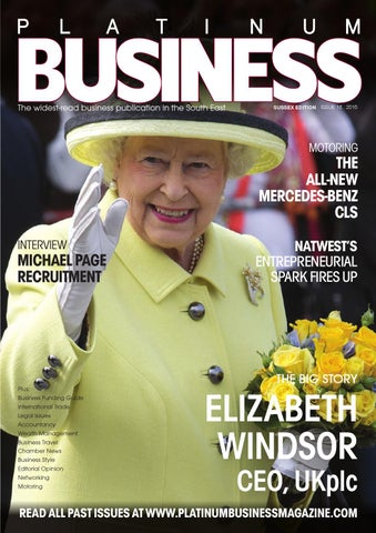 45dc4bad4a6f PLATINUM BUSINESS MAGAZINE - ISSUE 23 - SUSSEX EDITION by Platinum ...