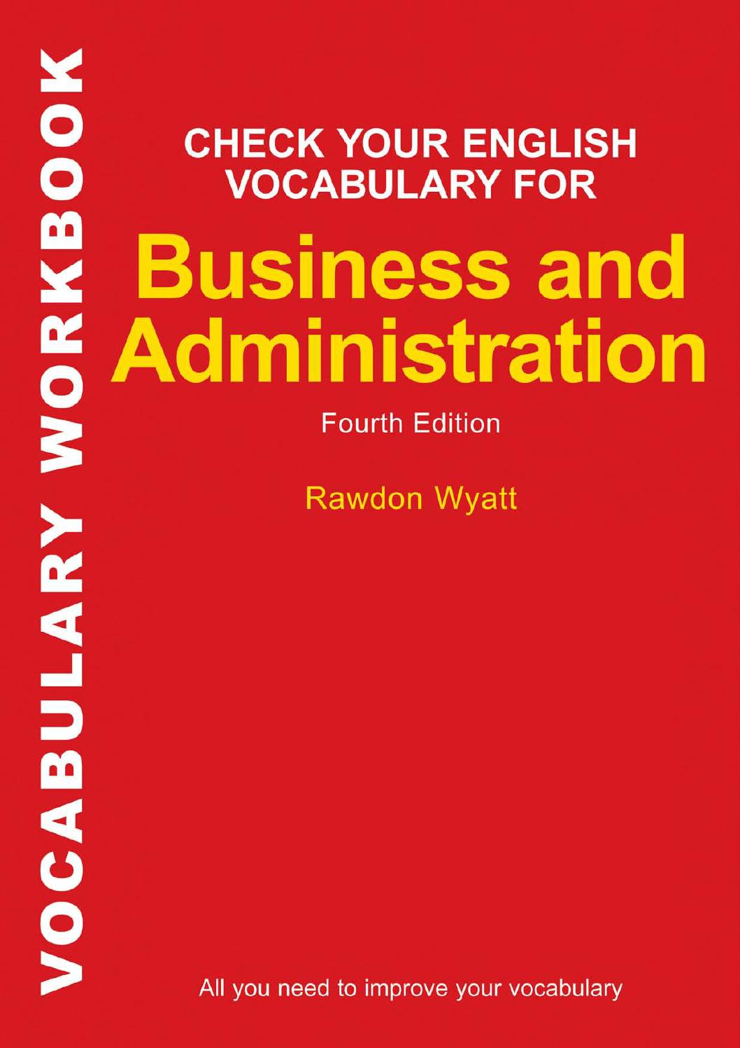 Check your english vocabulary for business and administration all ...