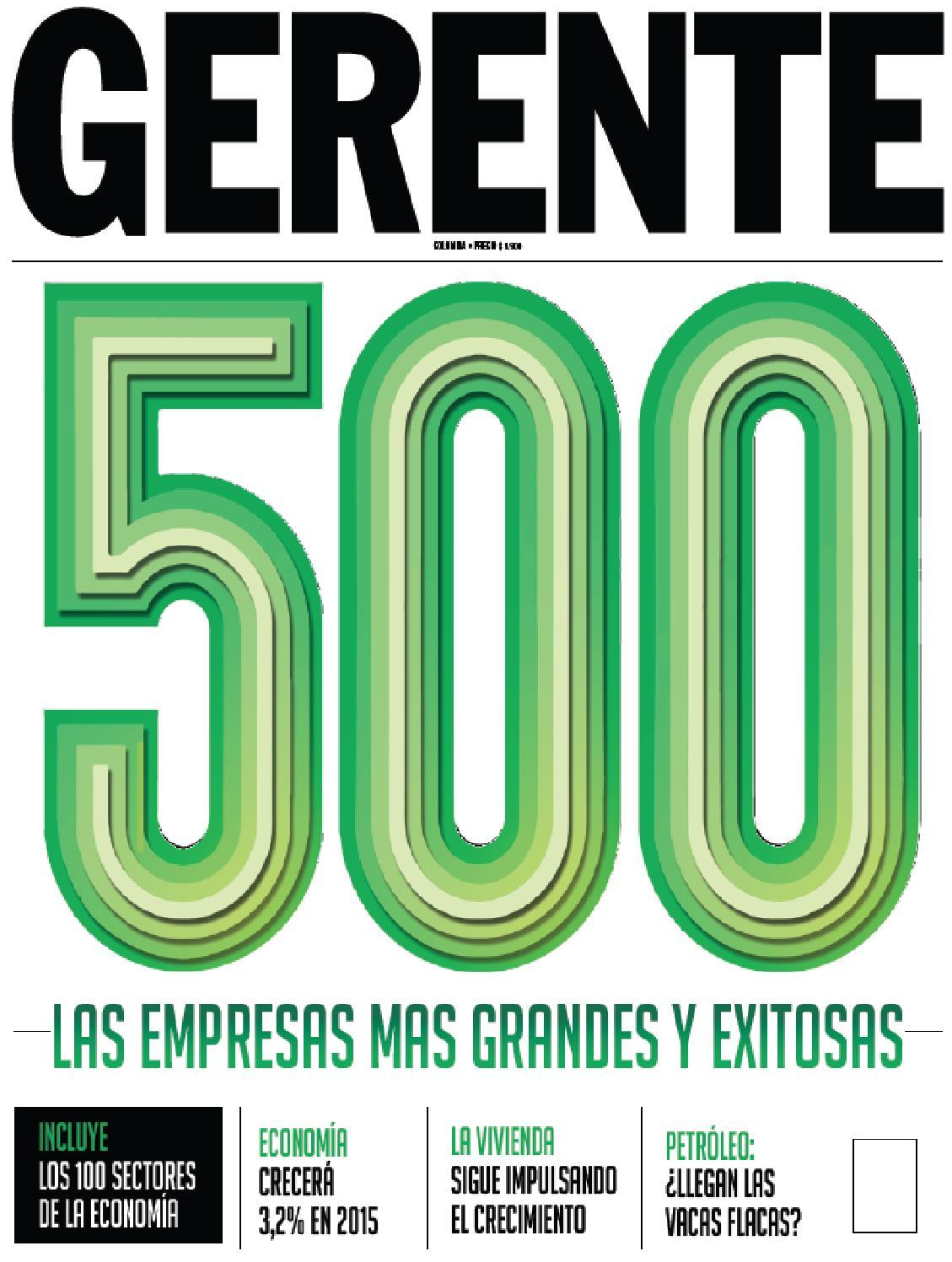 Revista Gerente Colombia 203 by REVISTA GERENTE - issuu