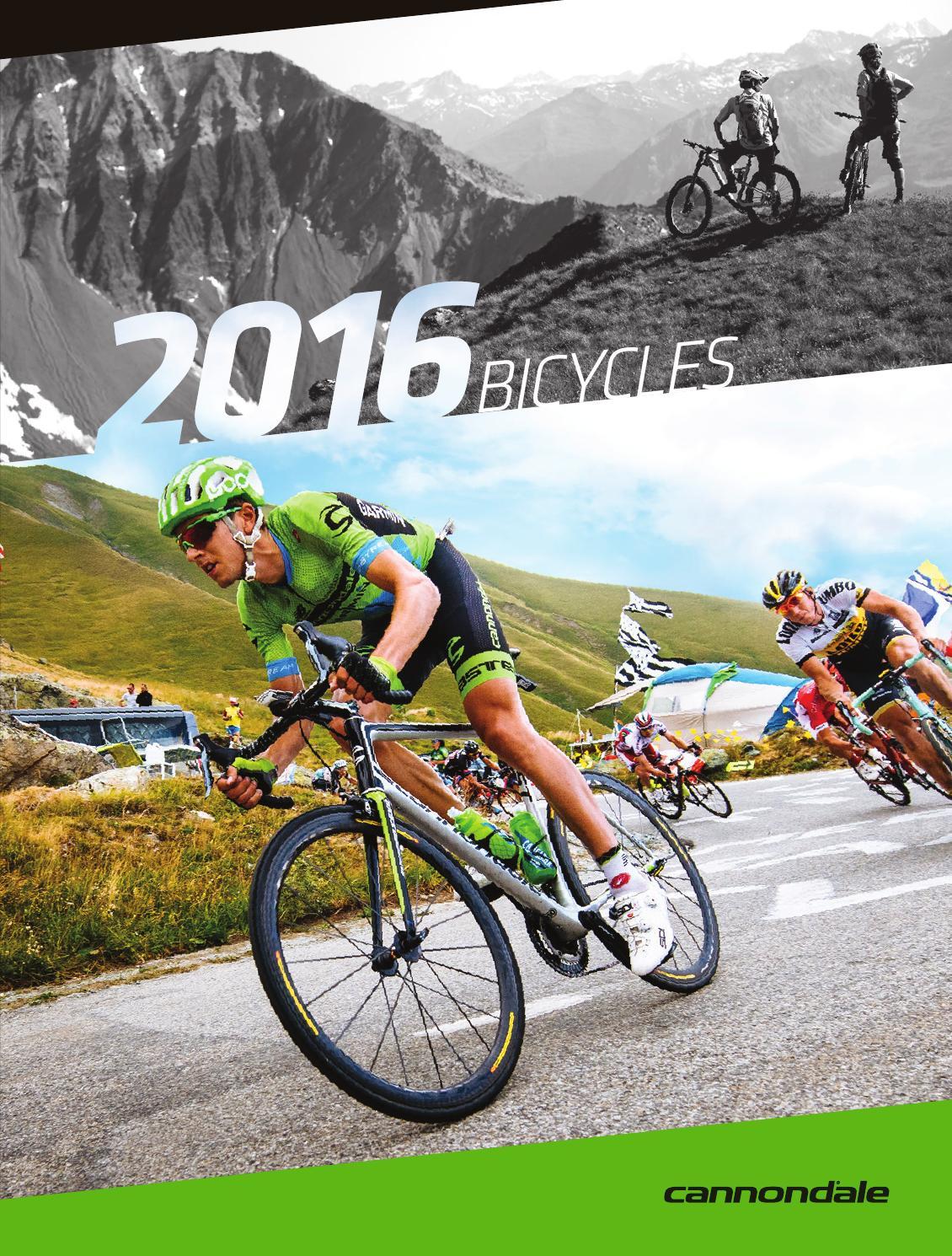 2016 Cannondale Bike Catalog By Global Issuu Ban Dalam 26 Schwalbe Evo