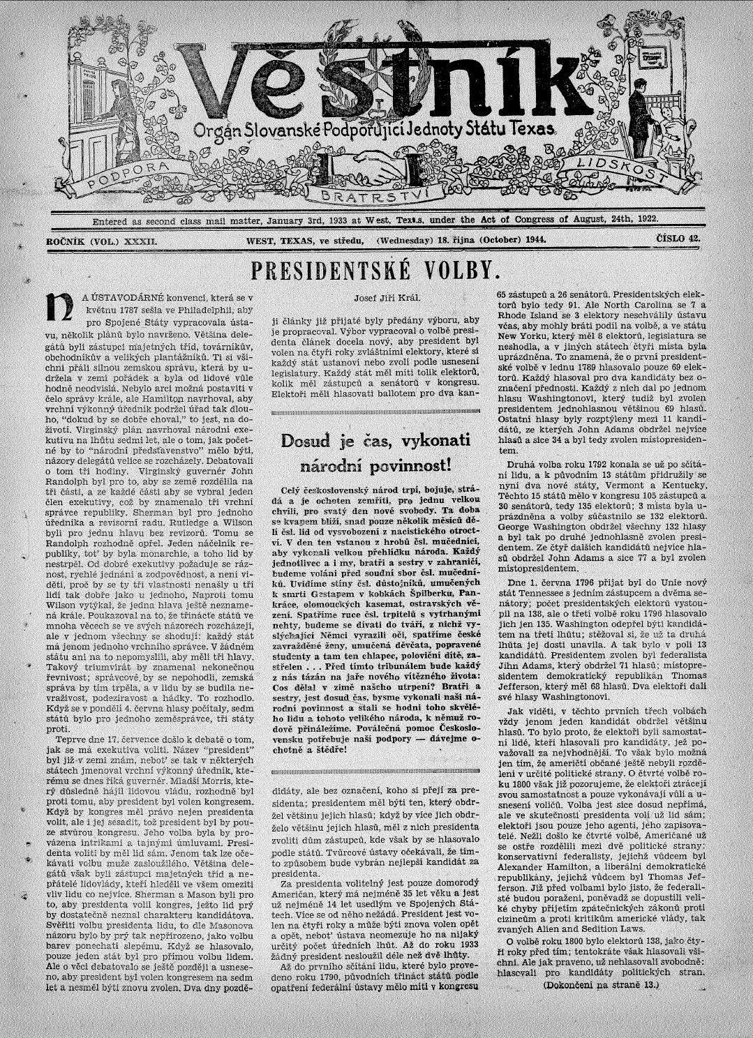 Vestnik 1944 10 18 by SPJST - issuu ae4fcfe2b2