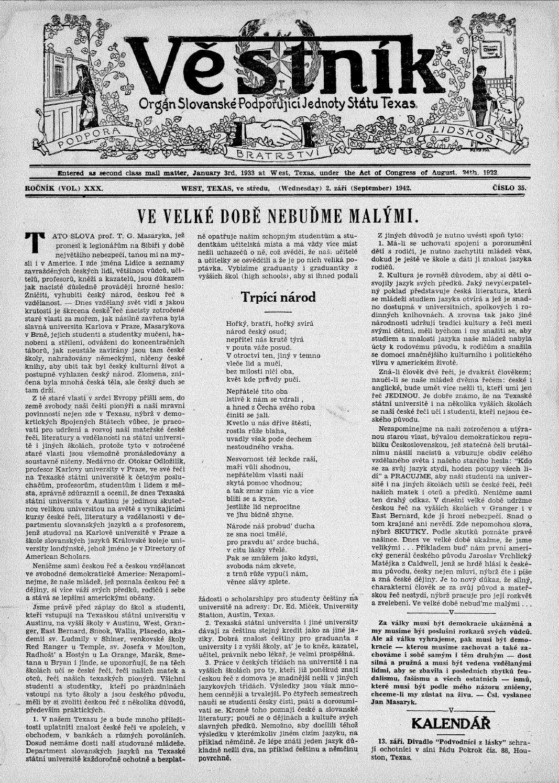 kalendar se jmeny svatku Vestnik 1942 09 02 by SPJST   issuu kalendar se jmeny svatku