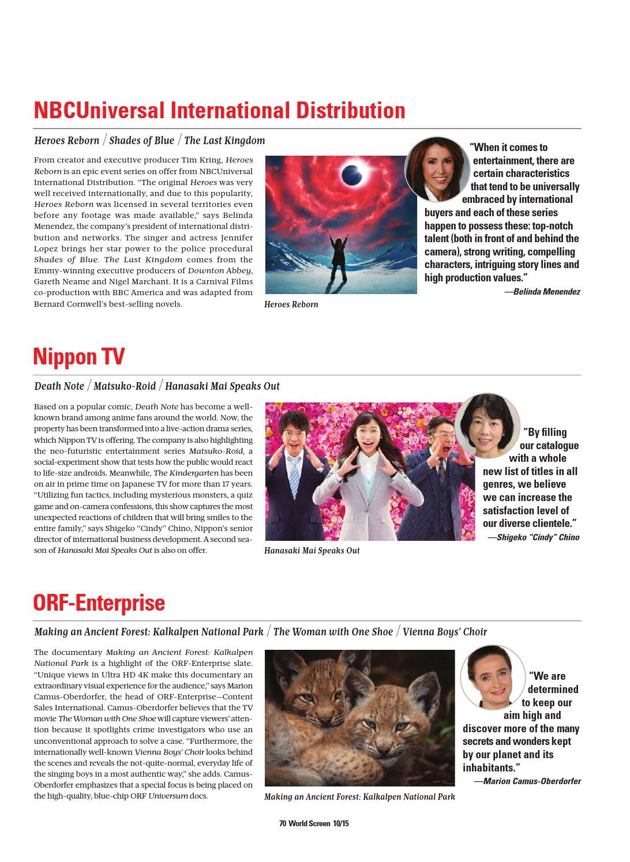 World Screen MIPCOM 2015 by World Screen - issuu