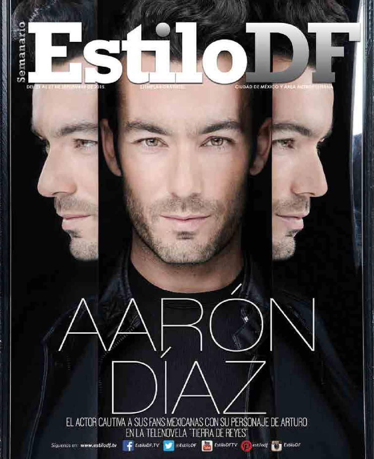 EstiloDF Aaron Díaz by EstiloDF - issuu