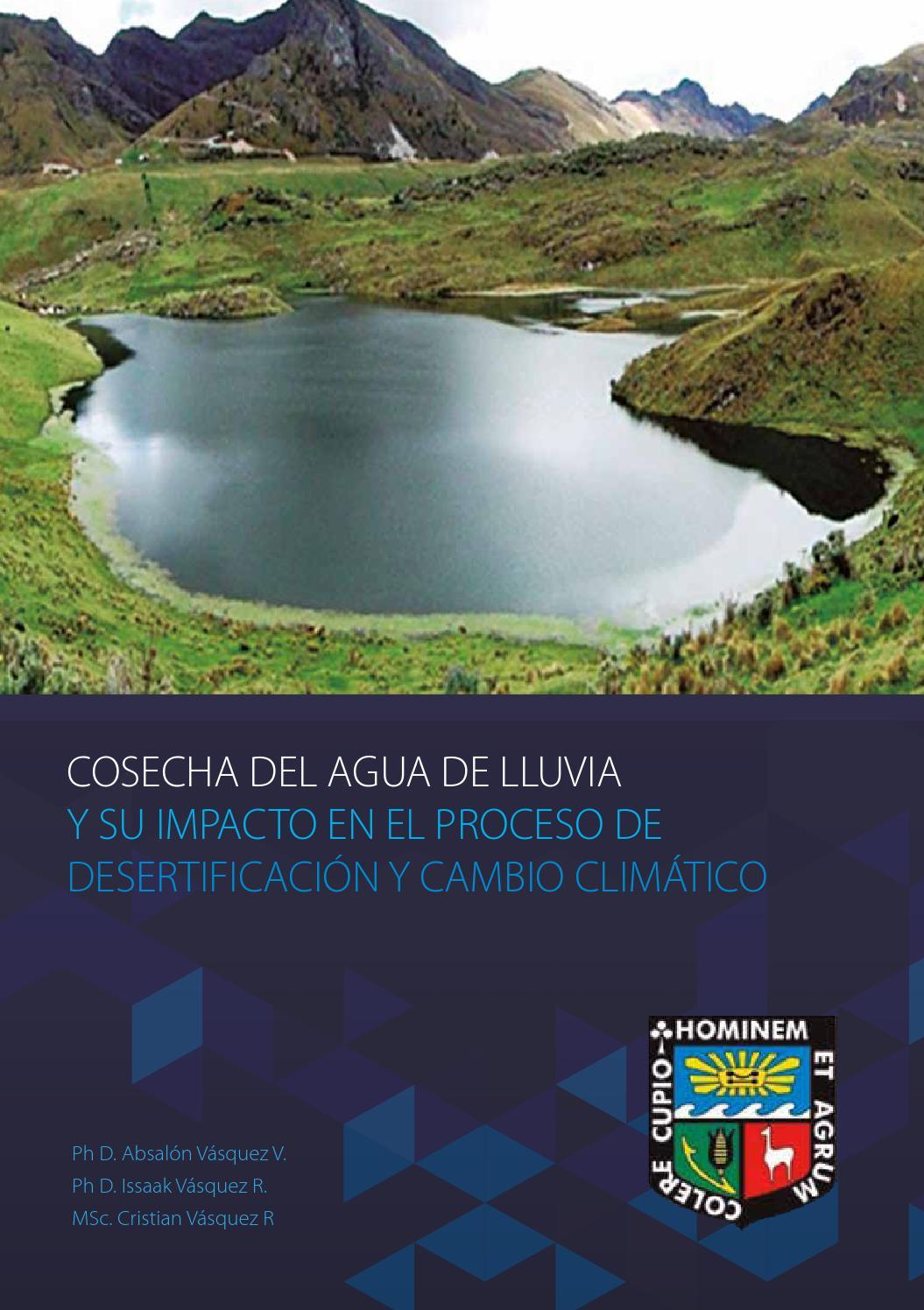Cosecha de agua de lluvia by Instituto de Promoción para