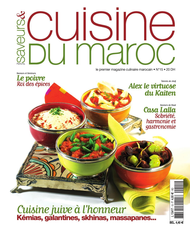 Saveurs Cuisine Du Maroc N 15 By Rose De Sable Issuu