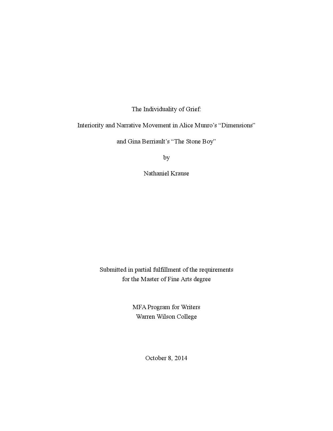 Bereavement emotion and loss essay