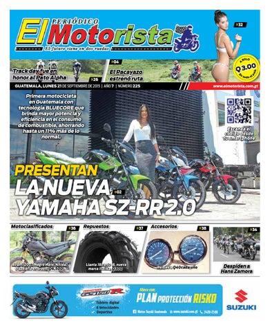 0bb8d9ff019 Periódico El Motorista 21 de Septiembre del Año 2015 by Rafa Rubio ...