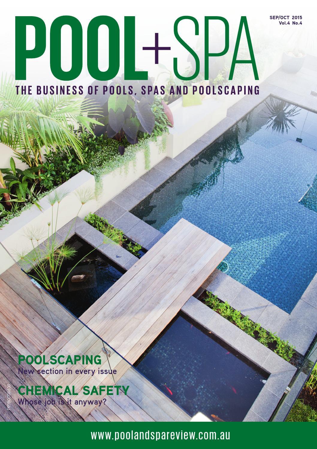 Pool spa sep oct 2015 by westwick farrow media issuu for Pool spa show 2015