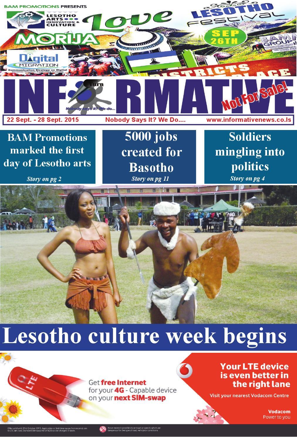 Informative news 22 28 sept 2015 by BAM Media - issuu