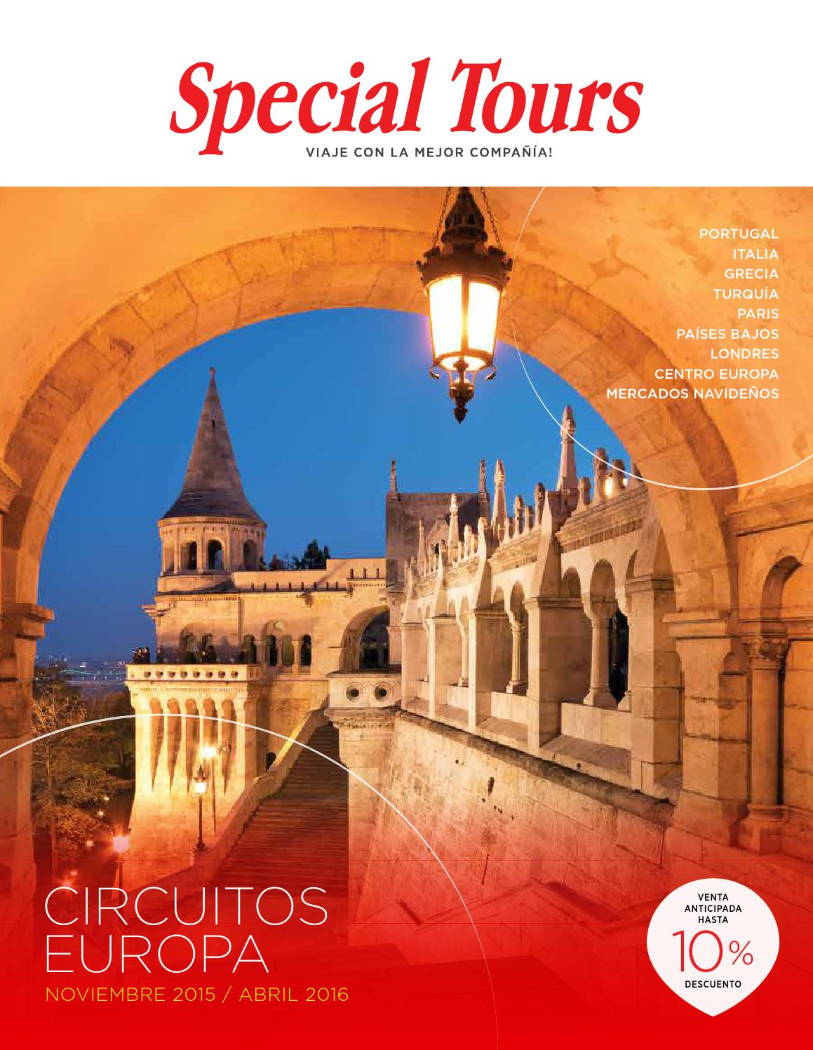 huge selection of fc947 9c360 Europa 2015 2016 Otoño - Invierno. Completo by MAYORISTA DE VIAJES, S.A.  CIF A 80609910 - issuu
