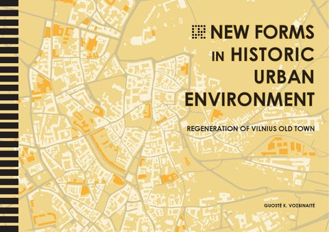 New Forms in Historic Urban Environment. Regeneration of ... on map old town copenhagen, map chicago old town, map prague old town, map bucharest old town, map salzburg old town,