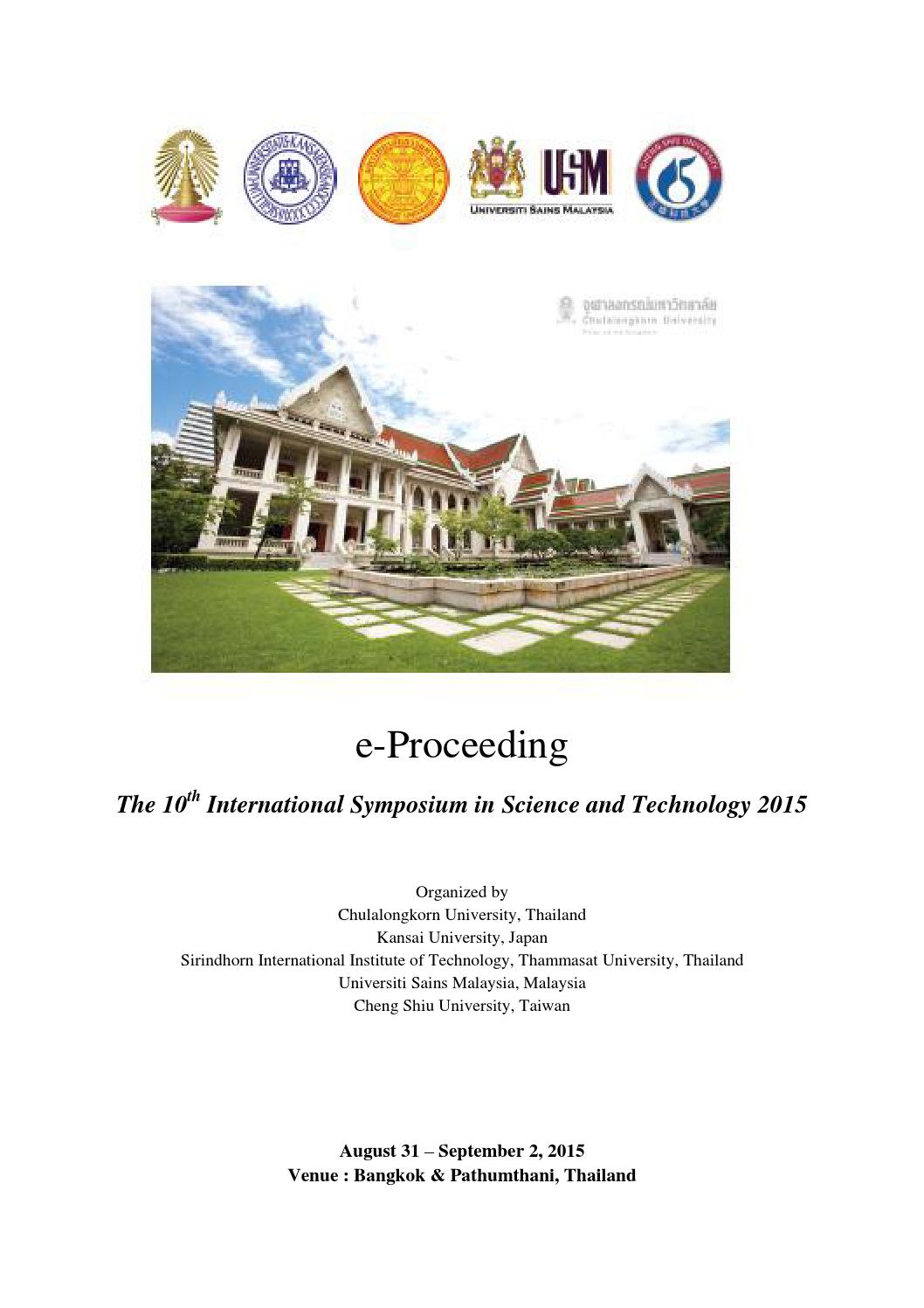 E proceeding isst2015 by ppc academic issuu fandeluxe Images