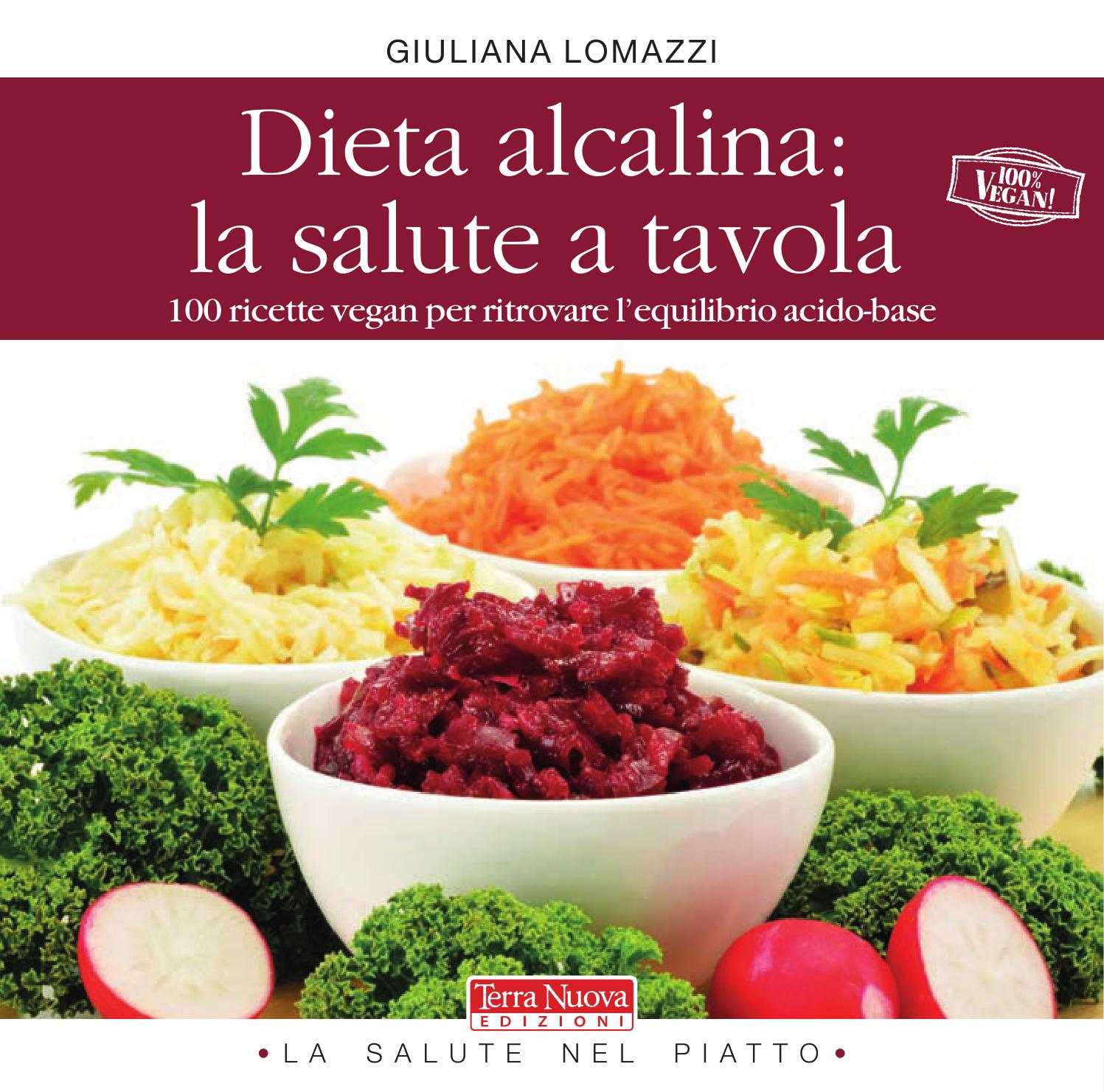 la dieta alcalina acida per una salute ottimales