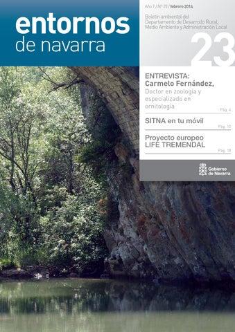 2a432ae4d2d68 Boletín Entornos de Navarra nº 23 by medio ambiente navarra - issuu