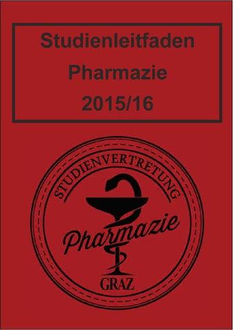 Studienleitfaden Pharmazie Ws1516 By Oeh Unigraz Issuu