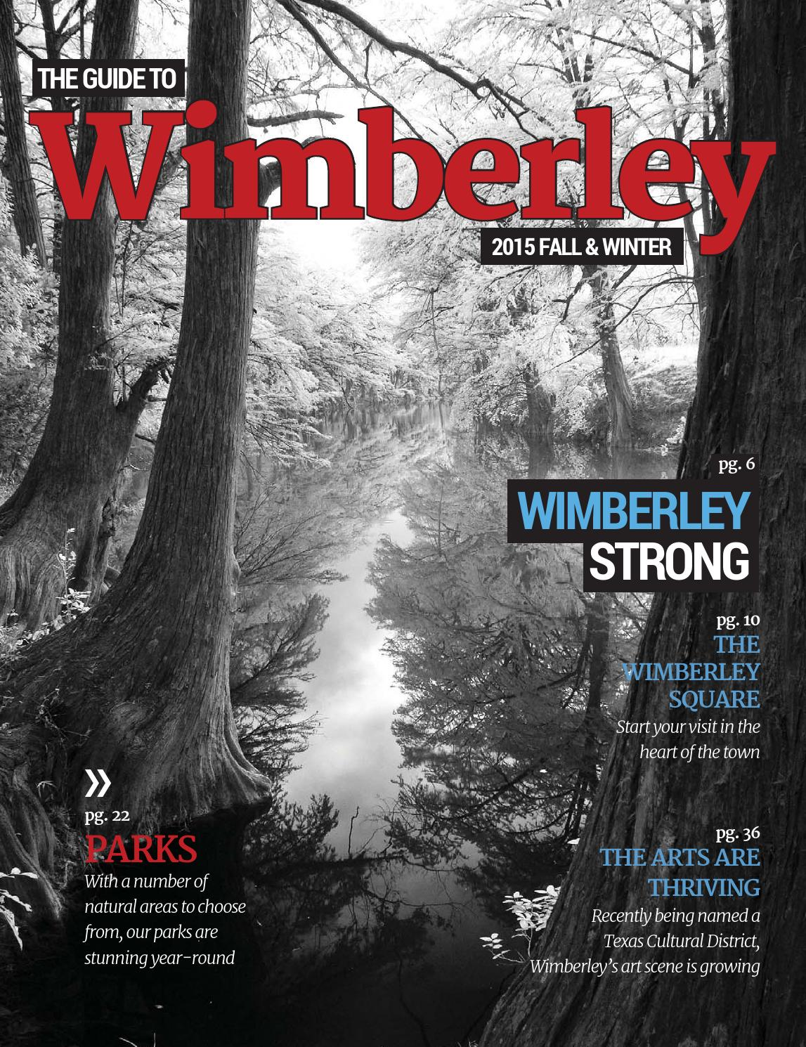 The Guide To Wimberley By Digital Publisher Issuu