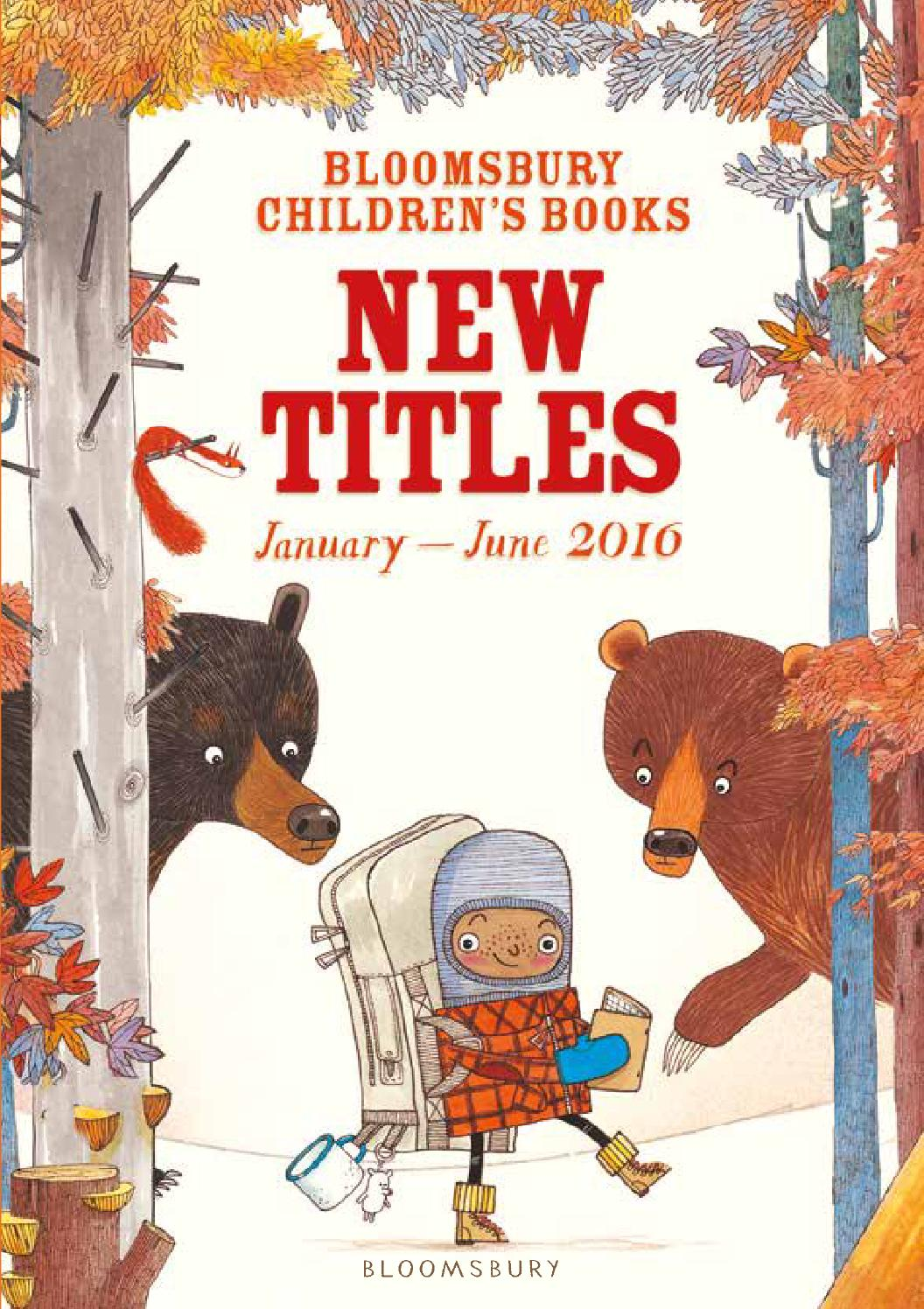 Bloomsbury Childrens Books New Titles Catalogue January