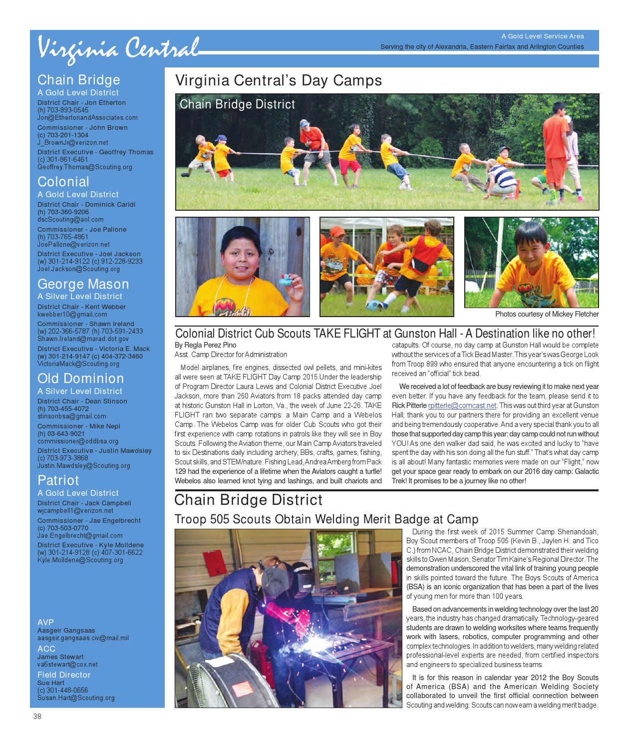 abe78498b317 Fall 2015 The Scouter Digest by National Capital Area Council - issuu