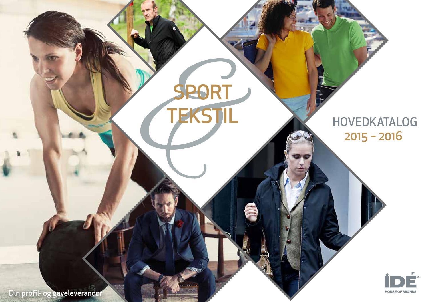 0df5952d3a09 IDÉ House of Brands Sport   Tekstil 2015-2016 by IDE House of Brands - issuu