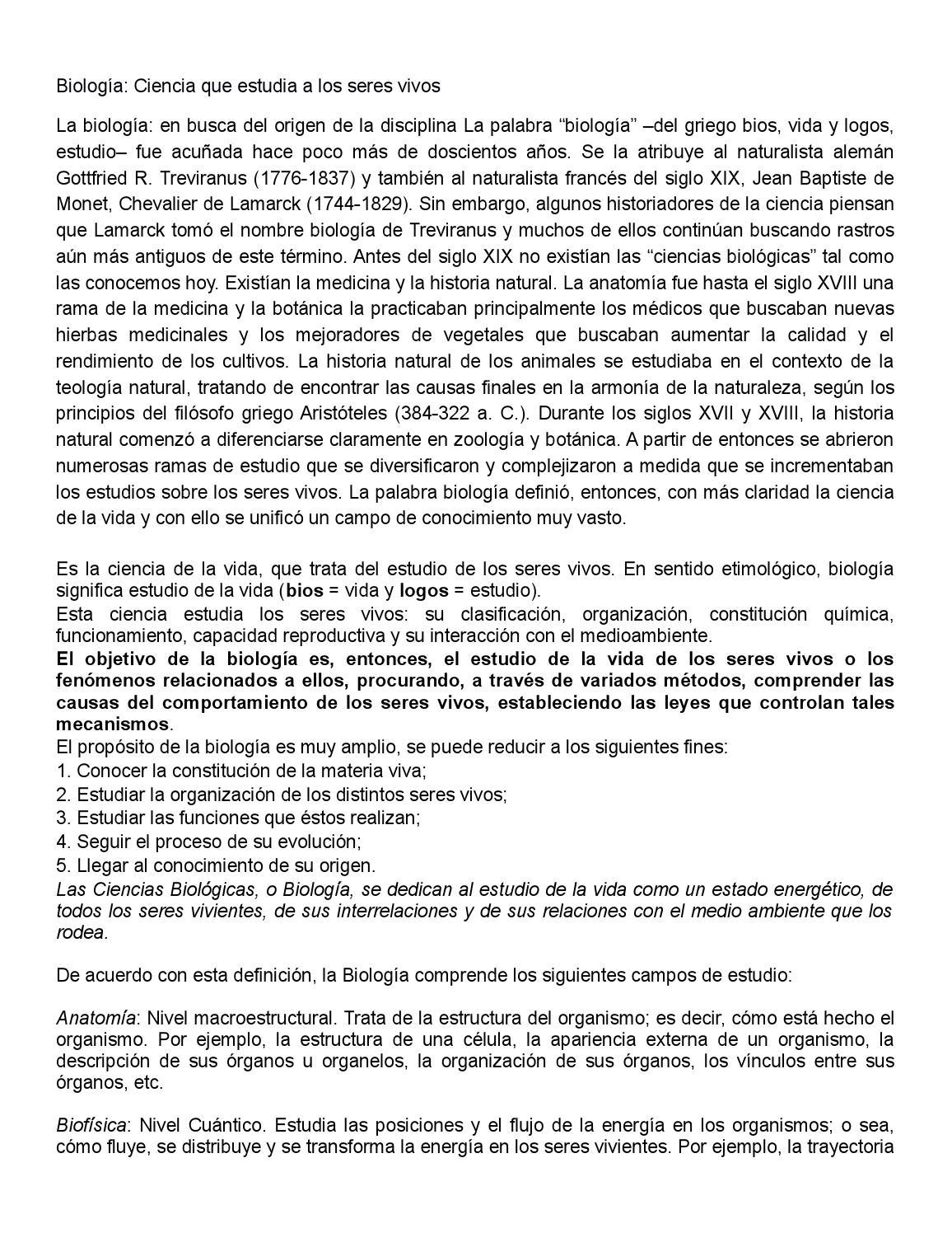 Biología by Tron Tecnologia En Redes - issuu