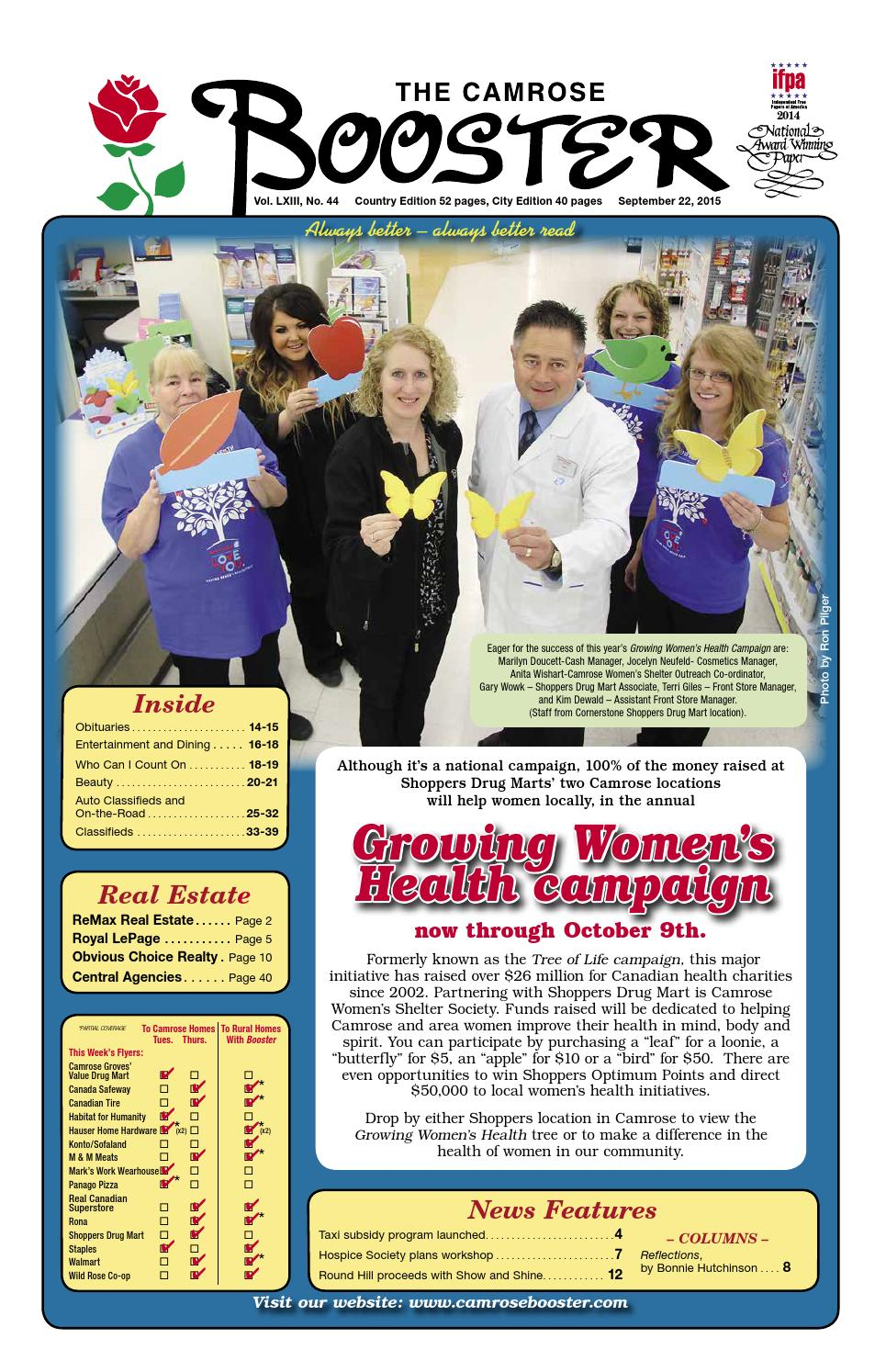September 22 2015 Camrose Booster By The Camrose Booster Issuu